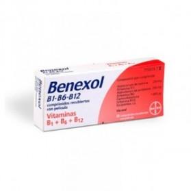 BENEXOL B1 B6 B12 (30 COMPRIMIDOS)