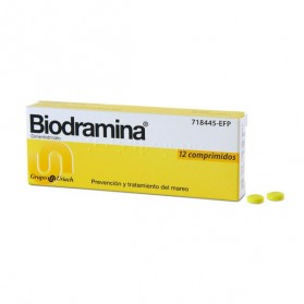 BIODRAMINA 50 MG (12 COMPRIMIDOS)