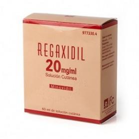 REGAXIDIL 20 MG/ML SOLUCION CUTANEA 1 FRASCO 60