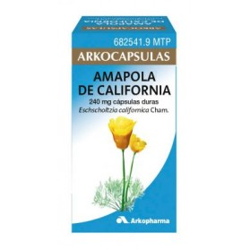 ARKOCAPSULAS AMAPOLA DE CALIFORNIA  100 CAPSULAS