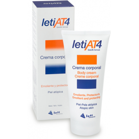LETI AT4 CREMA CORPORAL 200 ML + REGALO