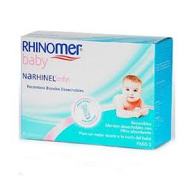 RHINOMER BABY RECAMBIOS ASPIRADOR 20 UNIDADES.