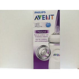 AVENT BIBERON NATURAL 3M+ 330 ML SCF696/17.