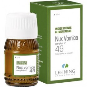 LEHNING NUX VOMICA COMPLEJO Nº 49 (30 ML)