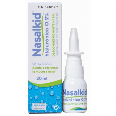 NASALKID HIALURONICO 0,2% SPRAY NASAL 20ML.