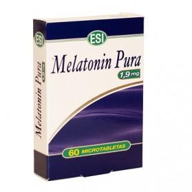 ESI Melatonin Pura 1,9 mg (60 microtabletas) | Farmacia Tuset
