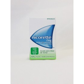 NICORETTE 2 MG 105 CHICLES