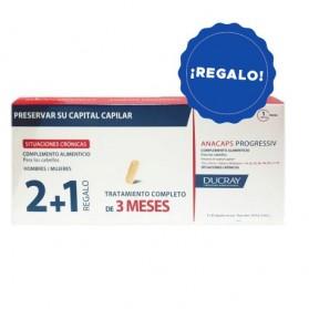 ANACAPS PROGRESSIV DUCRAY CÁPSULAS 2+1 REGALO