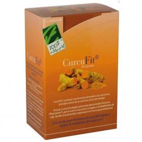 Curcufit - 100% Natural (60 cápsulas) | Farmacia Tuset