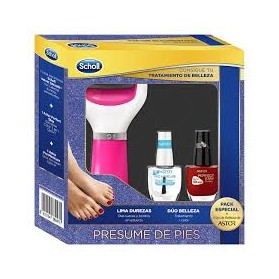 DR SCHOLL VELVET SMOOTH LIMA ELECTRICA DIAMOND ROSA +REGALO DÚO DE BELLEZA DE ASTOR