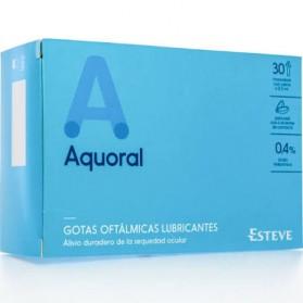AQUORAL GOTAS OFTALMICAS LUBRICANTES ESTERILES 0.5 ML 30 MONODOSIS