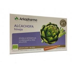 Arkopharma Alcachofa e Hinojo 20 Ampollas | Farmacia Tuset