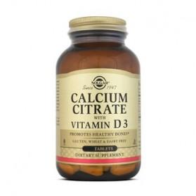 Solgar Citrato de Calcio + Vitamina D3 (240 comp) | Farmacia Tuset