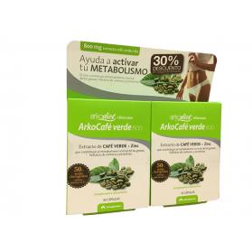 Arkopharma Arkocafé Verde 800 (Pack 2x30 cáps.) | Farmacia Tuset