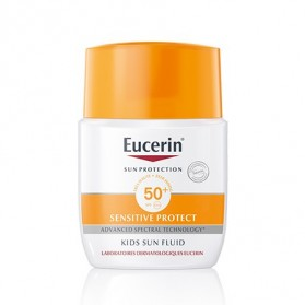 Eucerin Kids Sun Fluid FPS 50 (50 ml) | Farmacia Tuset