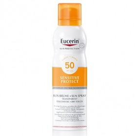 Eucerin Sun Spray Transparent Dry Touch FPS 50 | Farmacia Tuset