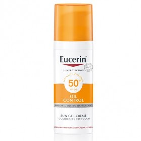 Eucerin Sun Gel-Cream Dry Touch Oil Control FPS 50 | Farmacia Tuset