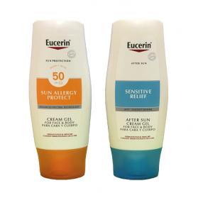Eucerin Sun Allergy Protect Cream-Gel FPS 50 + After Sun de REGALO | Farmacia Tuset