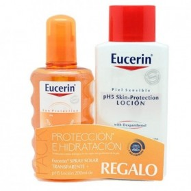 Eucerin Sun Spray Transparent FPS 30 + Loción REGALO | Farmacia Tuset