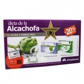 Arkopharma Arkofluido Pack Alcachofa + Té Verde (20 amp) | Farmacia Tuset