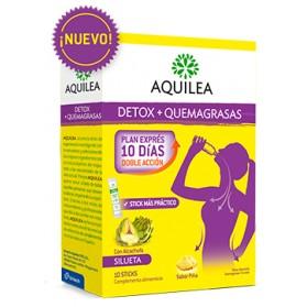 Aquilea Detox + Quemagrasas (10 sticks) | Farmacia Tuset