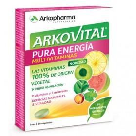 Arkopharma Arkovital Pura Energía (30 comp) | Farmacia Tuset