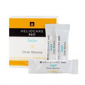 Heliocare 360º Junior Oral Sticks (20 sobres) | Farmacia Tuset