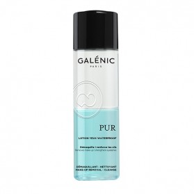 Galénic Pur Desmaquillante de Ojos Waterproof (125 ml) | Farmacia Tuset