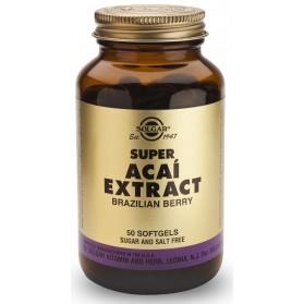 Solgar Super Acaí Extracto Baya de Brasil (50 cáps) | Farmacia Tuset