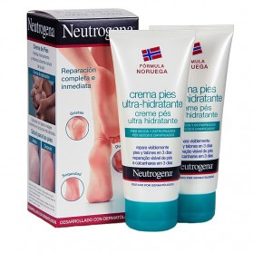 Neutrogena Crema Pies Ultrahidratante Duplo (100 ml + 100 ml) | Farmacia Tuset