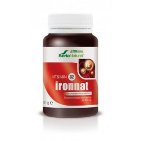 MGdose - Soria Natural Ironnat (60 comp) | Farmacia Tuset