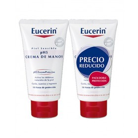 Eucerin pH5 Crema de Manos Pack (2 x 75 ml) | Farmacia Tuset