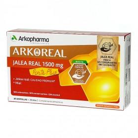 Arkopharma Arkoreal Jalea Real 1500 mg Forte Plus (20 ampollas) | Farmacia Tuset