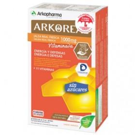 Arkopharma Arkoreal Jalea Real Vitaminada Light 1000 mg (20 amp) | Farmacia Tuset