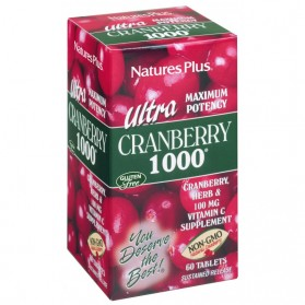 Nature's Plus Ultra Cranberry 1000 (60 comprimidos) | Farmacia Tuset
