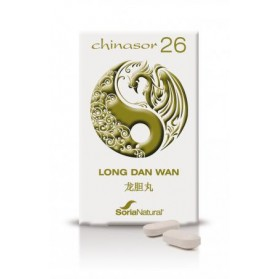 SORIA NATURAL CHINASOR 26 LONG DAN WAN (30 COMPRIMIDOS)