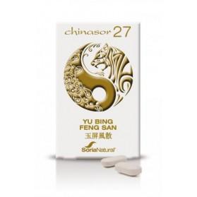 SORIA NATURAL CHINASOR 27 YU BING FENG SAN (30 COMPRIMIDOS)
