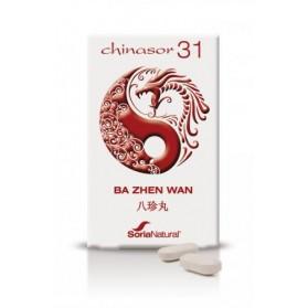 SORIA NATURAL CHINASOR 31 BA ZHEN WAN (30 COMPRIMIDOS)