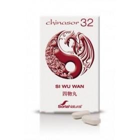 SORIA NATURAL CHINASOR 32 SI WU WAN (30 COMPRIMIDOS)