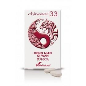 SORIA NATURAL CHINASOR 33 GENG NIAN QI WAN (30 COMPRIMIDOS)