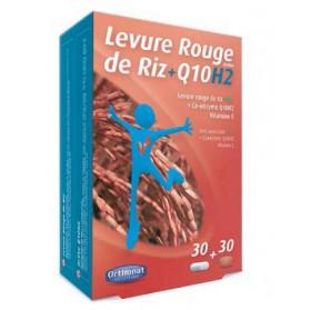Orthonat Levadura de Arroz Rojo Bio + Ortho Q10 H2 ( 60 caps) | Farmacia  Tuset