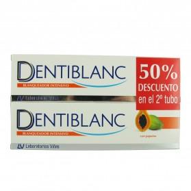 Dentiblanc Blanqueador Intensivo Pasta Duplo 2x100ml | Farmacia Tuset