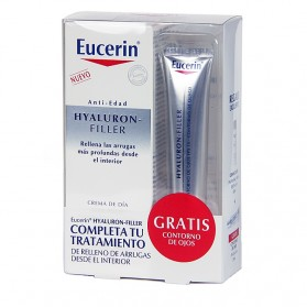 Eucerin Hyaluron-Filler Crema Día Piel Normal-Mixta (50 ml) + REGALO | Farmacia Tuset