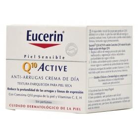 Eucerin Q10 Active Antiarrugas Crema Día Piel Seca (50 ml) | Farmacia Tuset