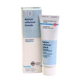 Dhu Pomada Schussler n10 Natrium Sulfuricum (50 gr) | Farmacia Tuset