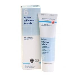 Dhu Pomada Schussler N6 Kalium Sulfuricum (50 gr) | Farmacia Tuset