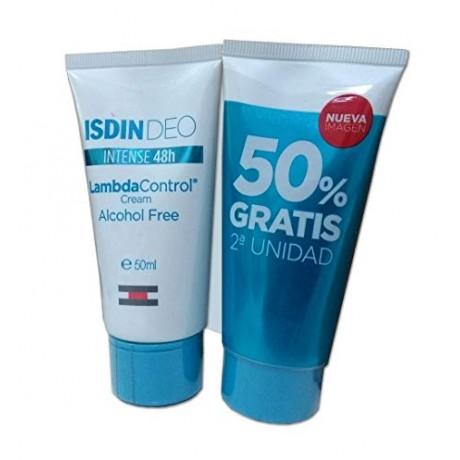 Isdin Deo Lambda Control Crema Antitranspirante Duplo (50 ml + 50 ml) | Farmacia Tuset