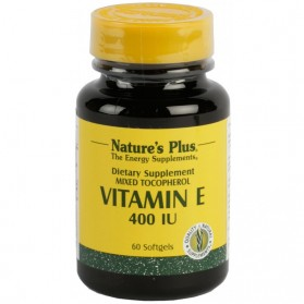 NATURE'S PLUS VITAMINA E 400UI (60 PERLAS)