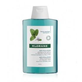 Klorane Champú Detoxificante a la Menta Acuática (200 ml) | Farmacia Tuset
