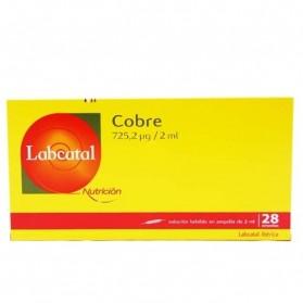 LABCATAL 4 COBRE (28 AMPOLLAS)